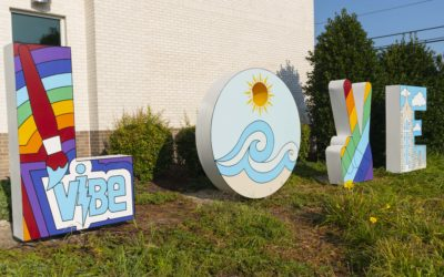The ViBe Mural Fest in VA Beach 2018
